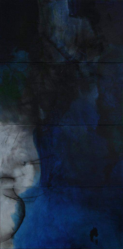 Variation bleue B, 2012