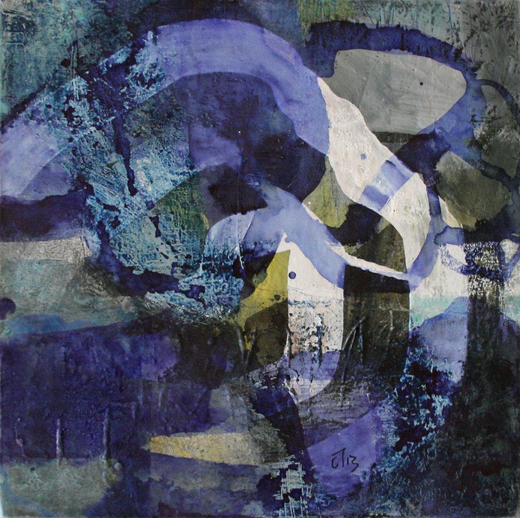 Variation bleue D, 2012