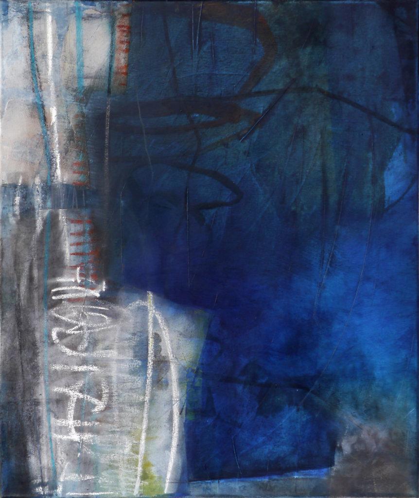 Memories 2, 2015, technique mixte sur toile, 60 x 50 cm